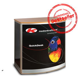 QuickDesk - die ideale Promotiontheke