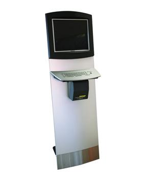 Terminal für digitale Präsentation