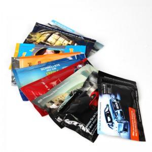 NEU – Hochwertiges Erfrischungstuch mit individueller Werbedruck-Verpackung