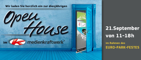 Open House 2014 –  im Rahmen des EURO-Park Festes