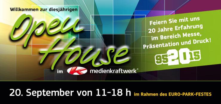 Open House 2015 – im Rahmen des EURO-Park Festes